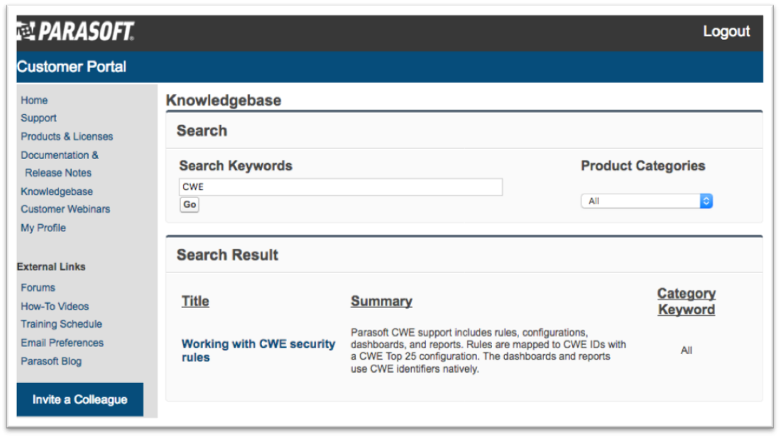 CWE AND COMPATIBILITY DOCUMENTATION